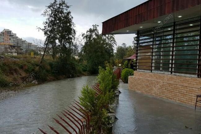 اجاره ویلا کنار رودخانه استخر دار چالوس