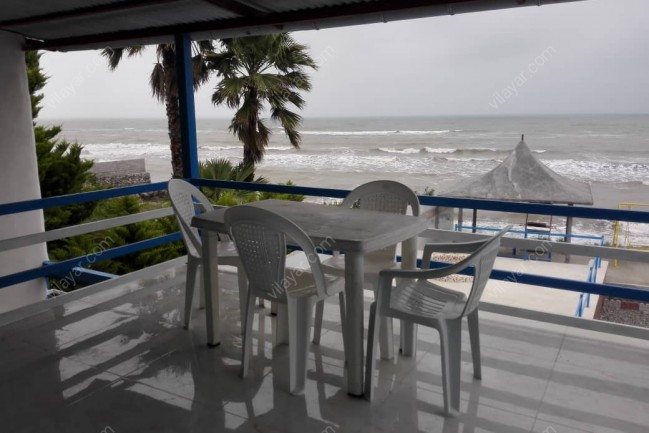 اجاره ویلا استخردار  روباز آبگرم ساحل اختصاصی