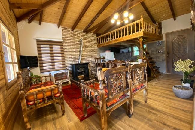 اجاره کلبه چوبی در دل جنگل مازندران