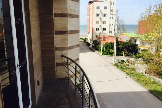 اجاره آپارتمان سه خوابه با دید دریا در نور