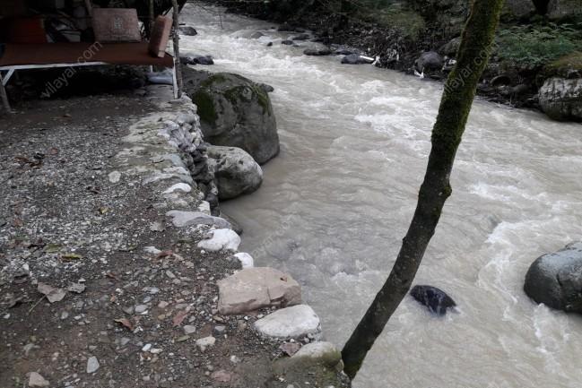 رزرو ویلا لب رودخانه داخل جنگل  یک مکان رویای
