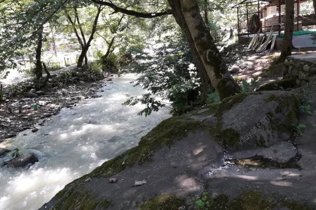 اجاره کلبه چوبی بر رودخانه در تالش
