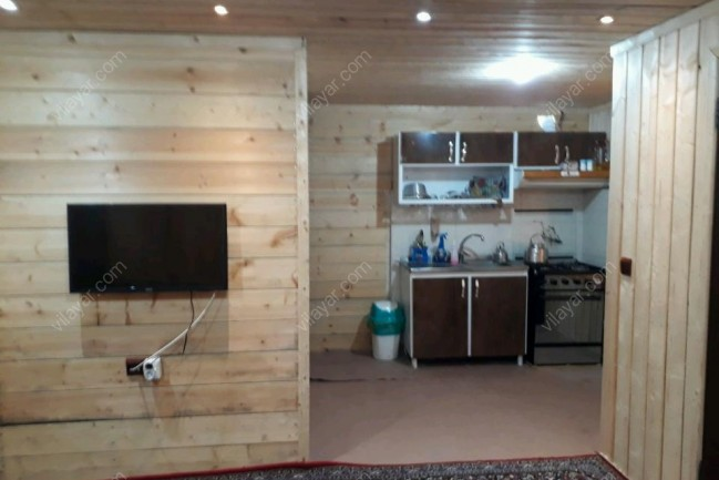 ویلا چوبی دوبلکس در ماسال برای اجاره