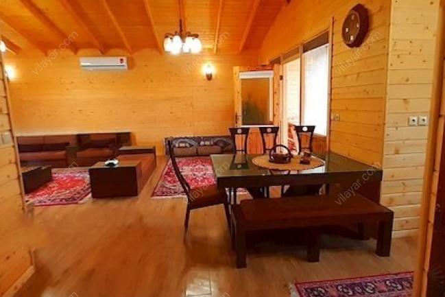 اجاره ویلا چوبی با استخر سونا و جکوزی