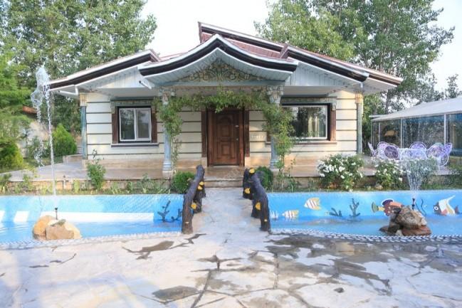 اجاره باغ ویلا جانان در کردان کرج