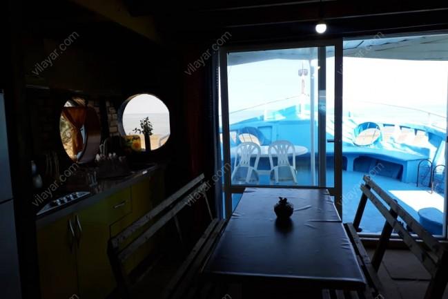 اجاره ویلا لنج طبقه بالا در بندر انزلی