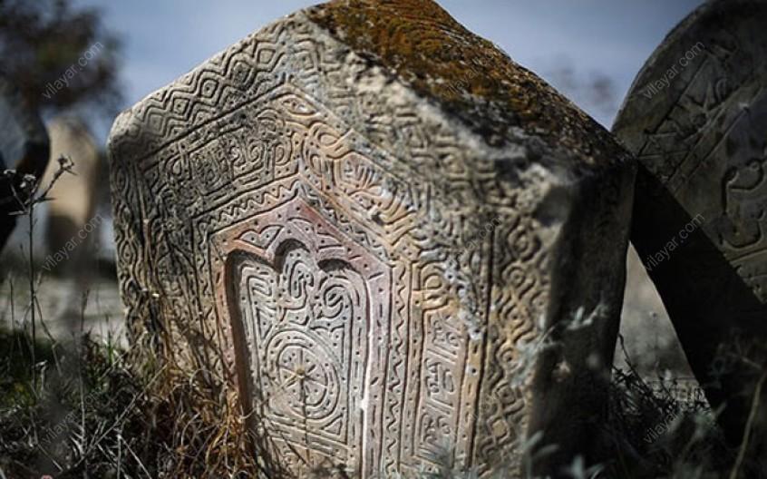 گورستان تاریخی سفید چاه در مازندران
