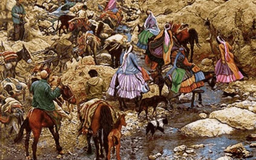 کوچ نشینی در مازندران