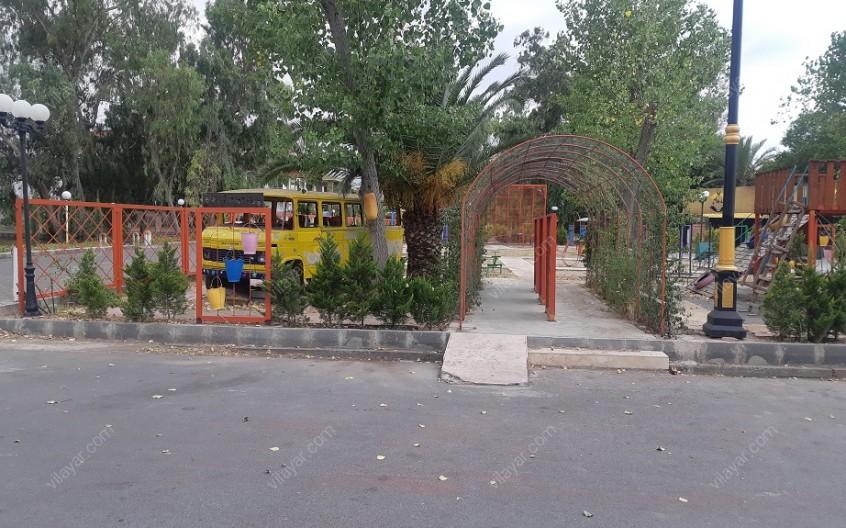 پارک کودک بلوط در دریاکنار بابلسر