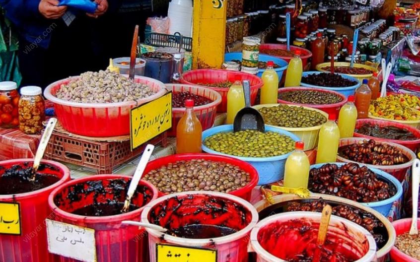 بازار چهار سوق آمل (بازار سنتی آمل)