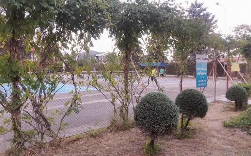 امکانات ورزشی شهرک خزرشهر شمالی