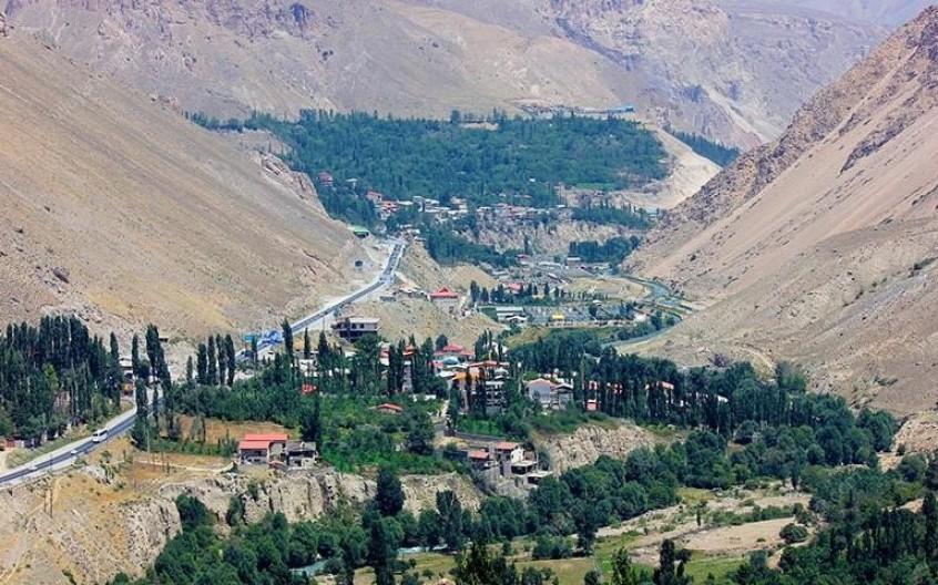آبشار امیری از دیدنیهای استان مازندران