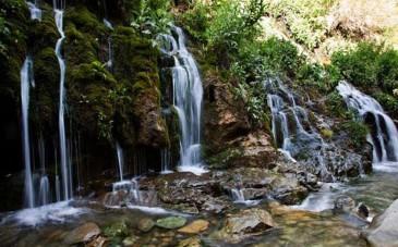 آبشار هفت چشمه چالوس