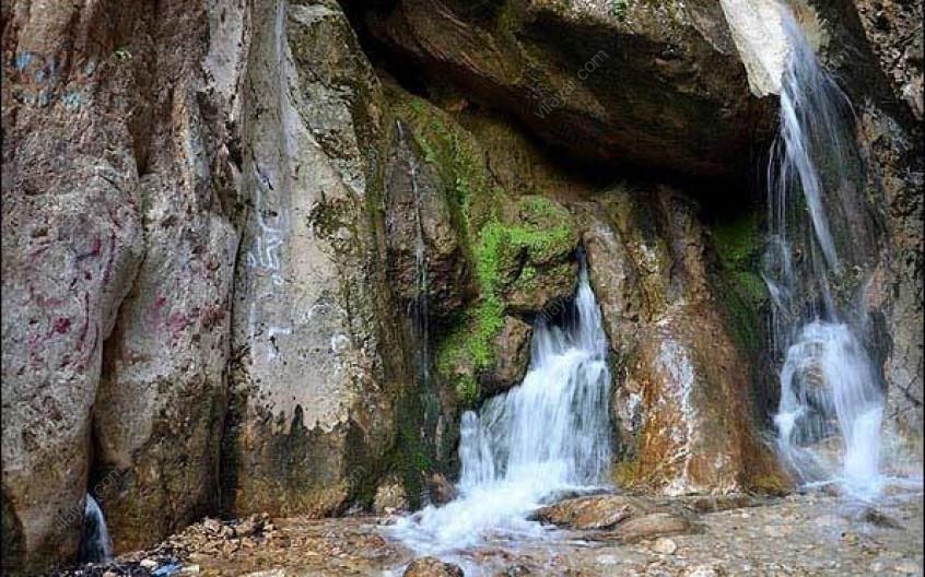 از دیدن زیباییهای آبشار دراسله لذت ببرید