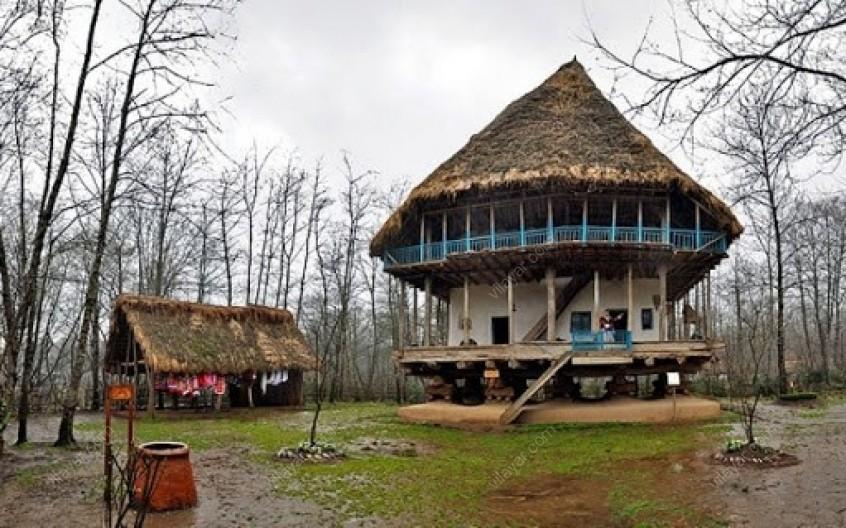 بازدید از موزه میراث روستایی گیلان