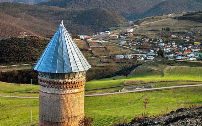 برج رسکت جزو جاذبه های گردشگری کدام استان است؟