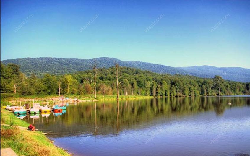 دریاچه الندان جزو جاذبه های گردشگری کدام استان است؟