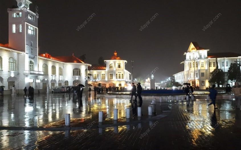 مجموعه میدان شهرداری رشت؛ جاذبه ای که محو زیبایی هایش خواهید شد!