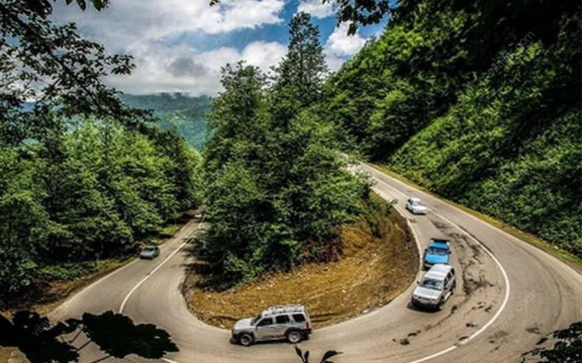 جاده جنگلی سیاهکل؛ مسخ کننده ترین جاده ایران!