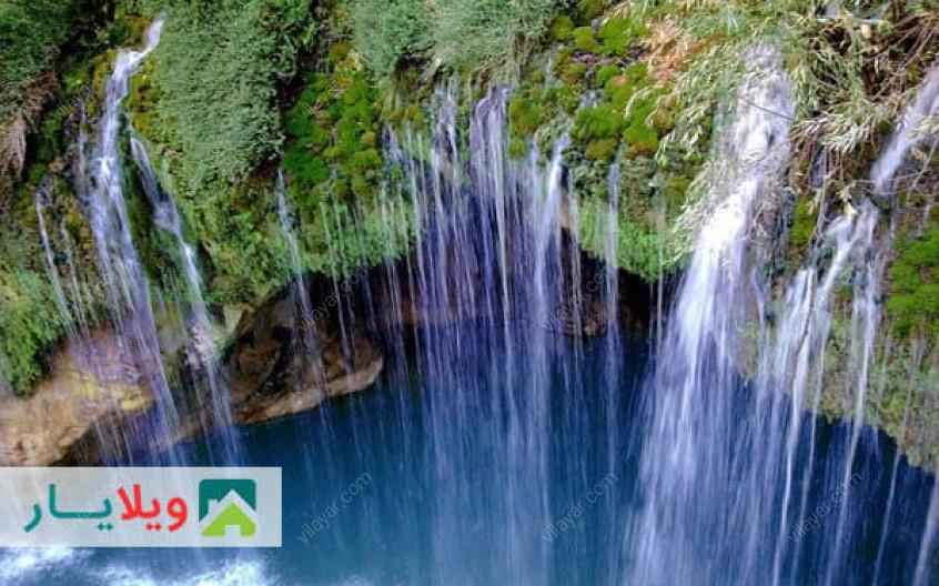 تصاویر و راهنمای رسیدن به آبشار هریجان  در جاده چالوس