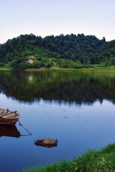 دیدنی ترین تصاویر از دریاچه سراگاه نگین غرب گیلان در تالش