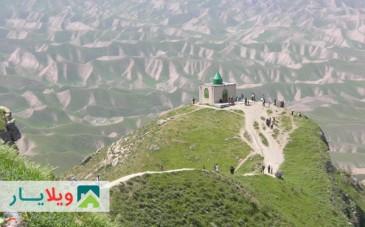 عکس ها و راهنمای سفر به مقبره خالد نبی در گنبدکاووس گلستان