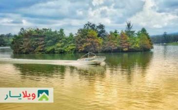 تصاویر و سفرنامه دریاچه آویدر مازندران با جزیره ای رویایی