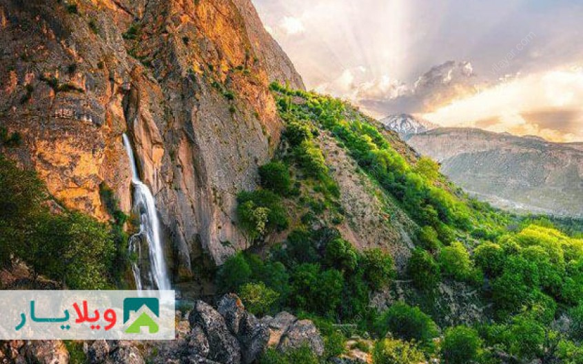 راهنمای دیدار از مناظر افسانه ای آبشار شاهاندشت آمل