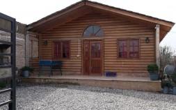 ویلا کلبه چوبی استخردار در شمال